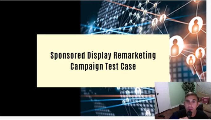sponsored display remarketing campaign test case title